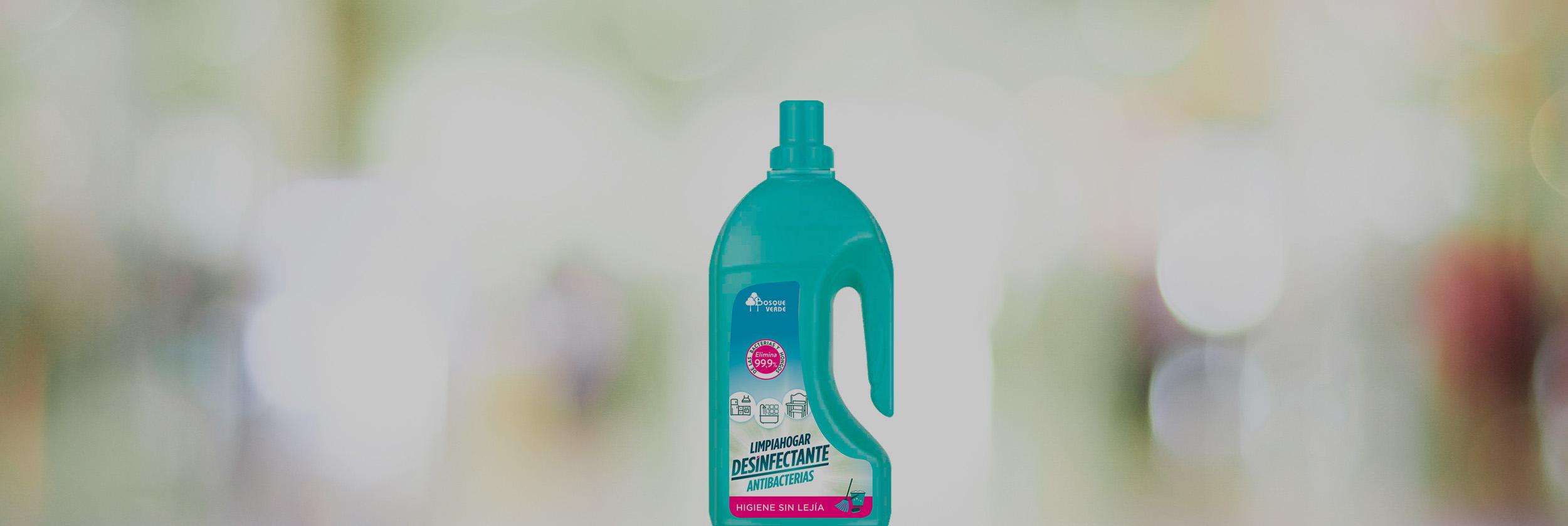 Limpiahogar Desinfectante Antibacterias Bosque Verde · SPB Contigo